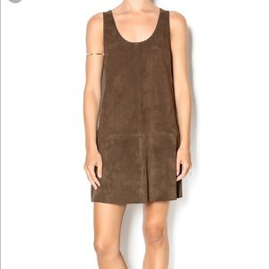 BB Dakatoa Suede Dress Size M